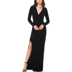 Xscape V-Neck Gown