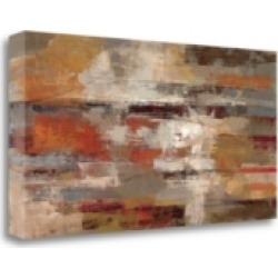 Tangletown Fine Art Painted Desert by Silvia Vassileva Giclee Print on Gallery Wrap Canvas, 29