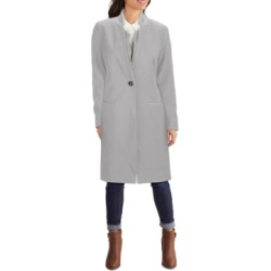 Kenneth Cole Ponte-Knit Inverted-Collar Trench Coat found on MODAPINS from Macy's for USD $225.00