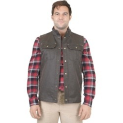 Mountain and Isles Men's Flannel Lined Waxed Cotton Vest found on MODAPINS from Macy's for USD $51.99