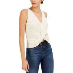 Bar Iii Twist-Front Sleeveless Sweater, Created for Macy's found on MODAPINS from Macys CA for USD $31.36