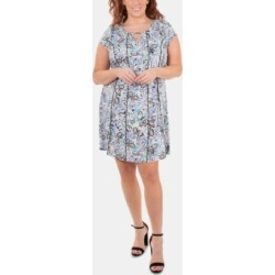 Ny Collection Plus Size Embellished Fit & Flare Dress found on Bargain Bro from Macy's Australia for USD $41.88