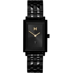 Mvmt Women's Caviar Black Stainless Steel Bracelet Watch 24mm found on Bargain Bro India from Macy's for $125.00