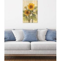 "iCanvas ""Summer Sunflowers Ii"" by Albena Hristova Gallery-Wrapped Canvas Print (26 x 18 x 0.75)"