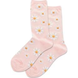Hot Sox Daisy Crew Socks