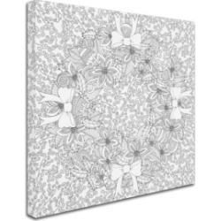 Hello Angel 'Christmas Wreath Mandala' Canvas Art found on Bargain Bro India from Macys CA for $38.06