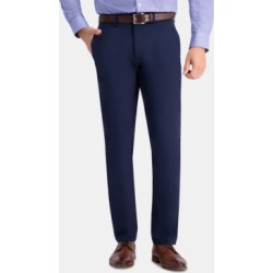 Haggar Men's Premium Comfort Khaki Slim-Fit 2-Way Stretch Wrinkle-Resistant Flat-Front Casual Pants found on MODAPINS from Macy's for USD $34.99