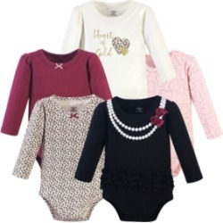 Little Treasure Baby Girls Heart of Gold Bodysuits, Pack of 5 found on Bargain Bro India from Macy's for $21.99