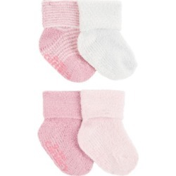Carter's Baby Girls 4-Pack Chenille Booties found on Bargain Bro India from Macy's Australia for $10.10