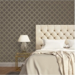 Inspire Me! Home Decor for Tempaper Layered Love Self-Adhesive Wallpaper