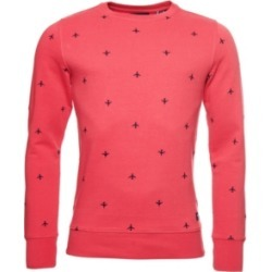 Superdry Men's All Over Embroidery Loopback Crew Sweatshirt found on Bargain Bro Philippines from Macy's for $54.95