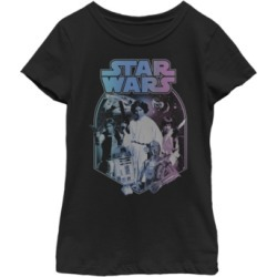 Fifth Sun Star Wars Big Girl's Gradient Classic Poster Short Sleeve T-Shirt found on Bargain Bro India from Macys CA for $23.08