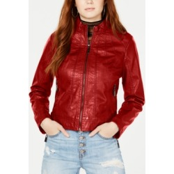Jou Jou Juniors' Faux-Leather Jacket found on Bargain Bro India from Macys CA for $42.23