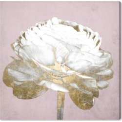 Oliver Gal Blush Gold Luxe Flower Canvas Art - 16