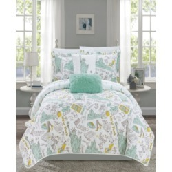 Chic Home New York 5 Piece Queen Quilt Set found on Bargain Bro India from Macy's for $108.99
