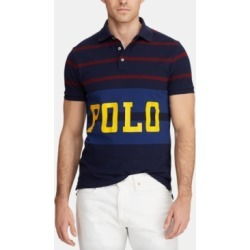 Polo Ralph Lauren Men's Classic-Fit Retro Mesh Polo Shirt found on MODAPINS from Macy's for USD $98.50