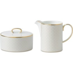 Wedgwood Arris Cream & Sugar Set