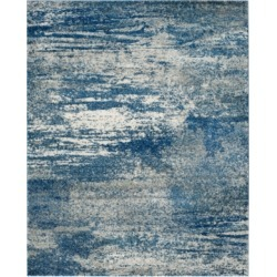 Safavieh Evoke EVK272A Navy/Ivory 8' x 10' Area Rug found on Bargain Bro from Macy's for USD $608.00