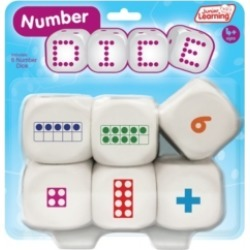 Junior Learning Number Dice Educational Learning Game