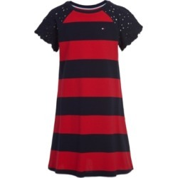 Tommy Hilfiger Little Girls Embroidered Shoulder Dress found on Bargain Bro Philippines from Macy's for $31.87