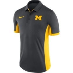 Nike Men's Michigan Wolverines Evergreen Polo found on Bargain Bro India from Macy's for $45.00