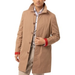 Tallia Men's Slim-Fit Raincoat found on MODAPINS from Macy's for USD $99.99
