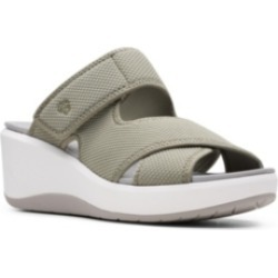Clarks Cloudsteppers Women's Step Cali Wave Wedge Sandals Women's Shoes found on Bargain Bro Philippines from Macy's Australia for $71.97