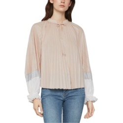 Bcbgmaxazria Colorblocked Pleated Top found on Bargain Bro Philippines from Macy's Australia for $85.09