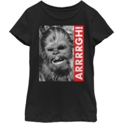 Fifth Sun Star Wars Big Girl's Wookie Rebel Yell Short Sleeve T-Shirt found on Bargain Bro India from Macys CA for $23.08
