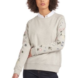 Barbour Bowland Embroidered Sweatshirt found on MODAPINS from Macy's for USD $120.00