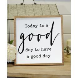 "Vip Home International Wood ""Good Day"" Sign"