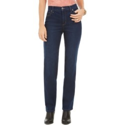 Style & Co Petite High-Rise Natural Straight Jeans, Created For Macy's