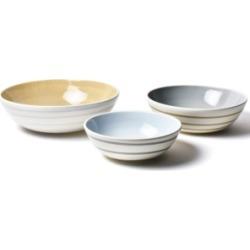 Coton Colors by Laura Johnson Neutral Nouveau Coupe Bowl - Set Of 3
