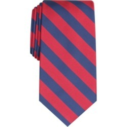 Club Room Men's Rover Classic Stripe Tie, Created For Macy's