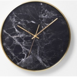 Cloudnola Structure Black Marble Wall Clock found on Bargain Bro India from Macy's for $98.99