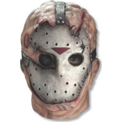 BuySeasons Jason Overhead Latex Mask