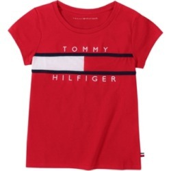 Tommy Hilfiger Big Girls Pieced Flag Tee found on Bargain Bro Philippines from Macy's for $18.37