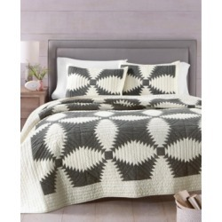 Martha Stewart Collection Windmill Artisan Twin Quilt, Created for Macy's