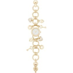 Charter Club Women's Gold-Tone Key Charm Bracelet Watch 26mm, Created for Macy's found on Bargain Bro Philippines from Macy's Australia for $39.92
