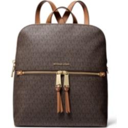 Michael Michael Kors Rhea Zip Medium Slim Signature Backpack
