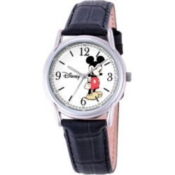 Disney Mickey Mouse Men's Cardiff Silver Alloy Watch found on Bargain Bro India from Macy's for $39.99