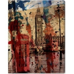 Oliver Gal London in Red Canvas Art, 17
