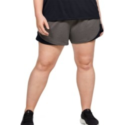 Under Armour Plus Size Play Up Shorts 3.0 found on Bargain Bro Philippines from Macy's for $25.00
