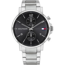 Tommy Hilfiger Men's Chronograph Stainless Steel Bracelet Watch 44mm, Created for Macy's found on Bargain Bro Philippines from Macy's for $145.00