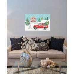 """iCanvas """"Christmas In The Country Ii"""" by Daphne Brissonnet Gallery-Wrapped Canvas Print (18 x 26 x 0.75)"""