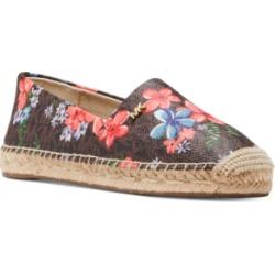 Michael Michael Kors Kendrick Slip-On Espadrille Flats Women's Shoes found on Bargain Bro Philippines from Macy's Australia for $53.30
