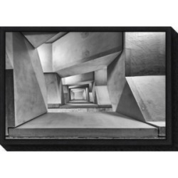 Amanti Art downstairs by Guy Goetzinger Canvas Framed Art found on Bargain Bro India from Macy's for $85.99