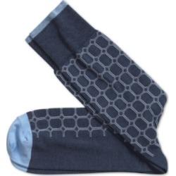 Johnston & Murphy Men's Heathered Circle Grid Socks found on Bargain Bro India from Macys CA for $16.84