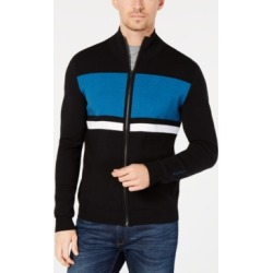 Calvin Klein Men's Colorblocked Striped Milano Cardigan found on MODAPINS from Macy's for USD $40.93