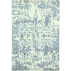 Closeout! Medley 748 Ivory/Blue 5' x 7'6
